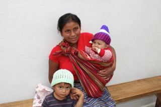 Hat & Blanket Distribution in Los Robles, Guatemala